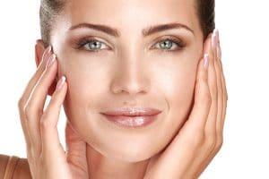 Clear face skin