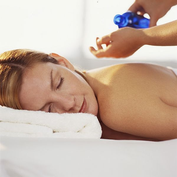 wellness massage blauw
